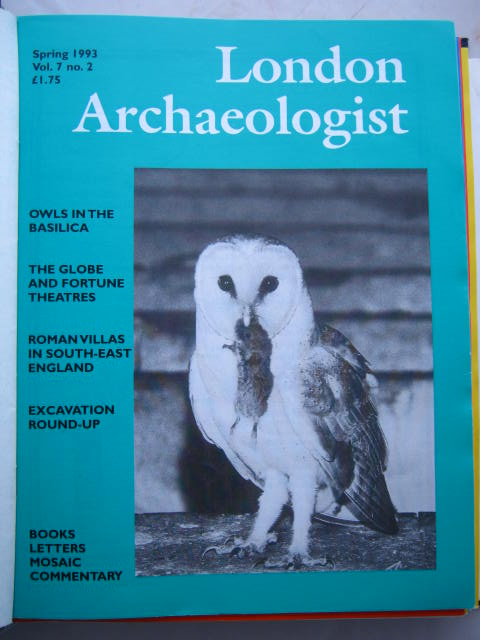 The London Archaeologist, Spring 1993, Vol. VII, No. 2 :, Orton, Clive ;(ed)