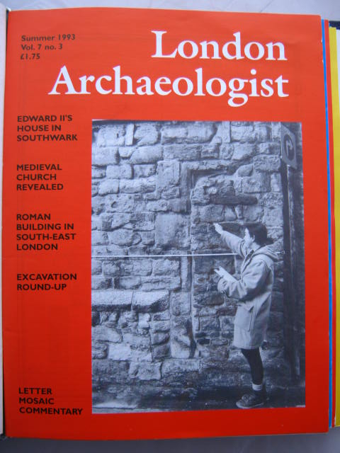 The London Archaeologist, Summer 1993, Vol. VII, No. 3 :, Orton, Clive ;(ed)