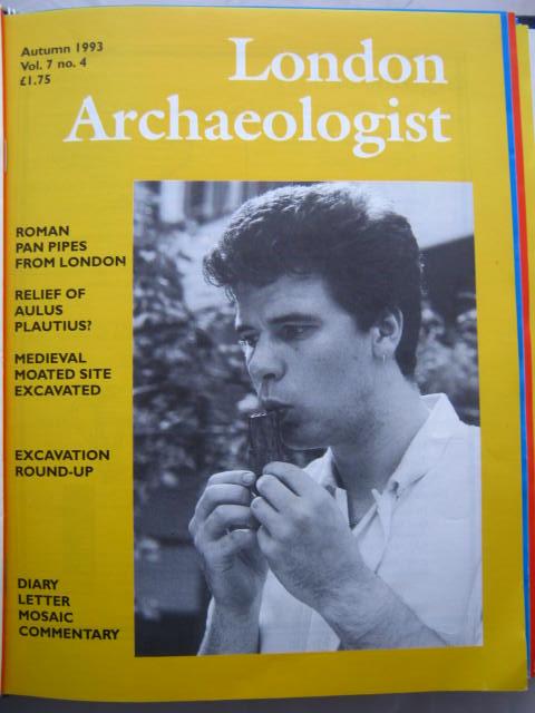 The London Archaeologist, Autumn 1993, Vol. VII, No. 4 :, Orton, Clive ;(ed)