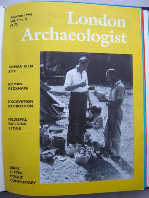 The London Archaeologist, Autumn 1994, Vol. VII, No. 9 :, Orton, Clive ;(ed)