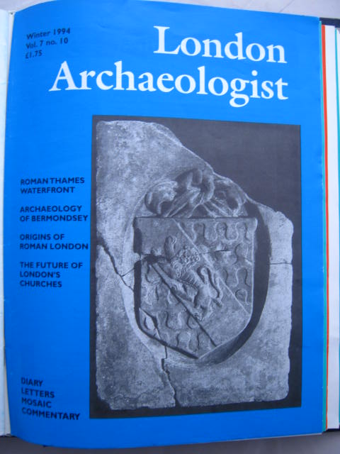 The London Archaeologist, Winter 1994, Vol. VII, No. 10 :, Orton, Clive ;(ed)