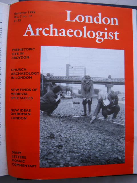 The London Archaeologist, Summer 1995, Vol. VII, No. 12 :, Orton, Clive ;(ed)