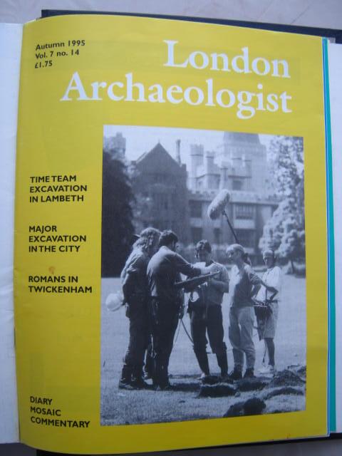 The London Archaeologist, Autumn 1995, Vol. VII, No. 14 :, Orton, Clive ;(ed)
