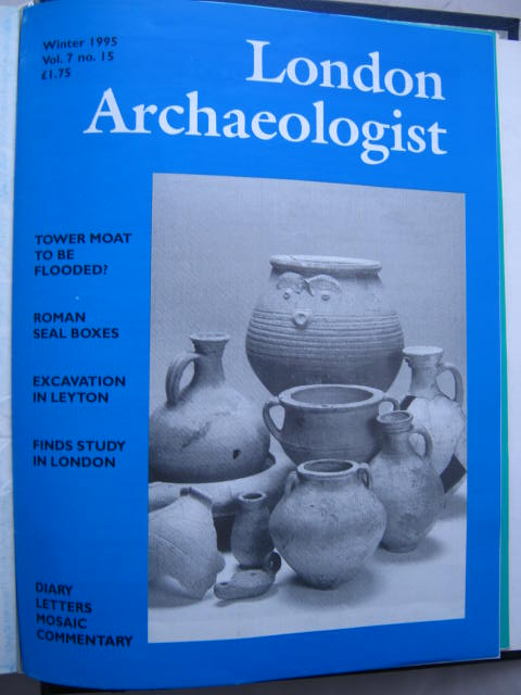The London Archaeologist, Winter 1995, Vol. VII, No. 15 :, Orton, Clive ;(ed)
