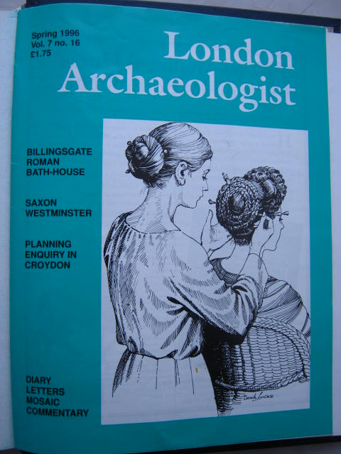 The London Archaeologist, Spring 1996, Vol. VII, No. 16 :, Orton, Clive ;(ed)