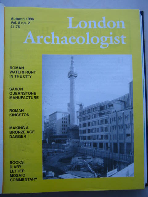 The London Archaeologist, Autumn 1996, Vol. VIII, No. 2 :, Orton, Clive ;(ed)