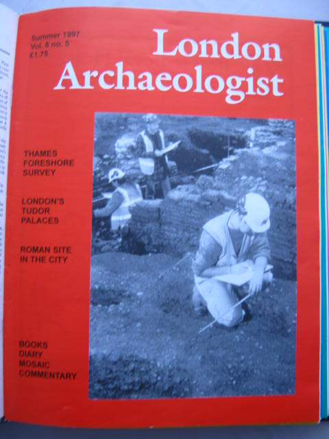 The London Archaeologist, Summer 1997, Vol. VIII, No. 5 :, Orton, Clive ;(ed)