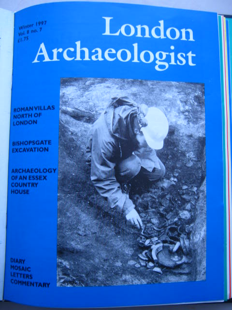 The London Archaeologist, Winter 1997, Vol. VIII, No. 7 :, Orton, Clive ;(ed)