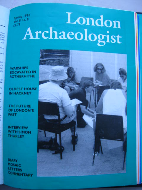 The London Archaeologist, Spring 1998, Vol. VIII, No. 8 :, Orton, Clive ;(ed)