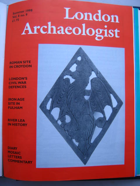 The London Archaeologist, Summer 1998, Vol. VIII, No. 9 :, Orton, Clive ;(ed)
