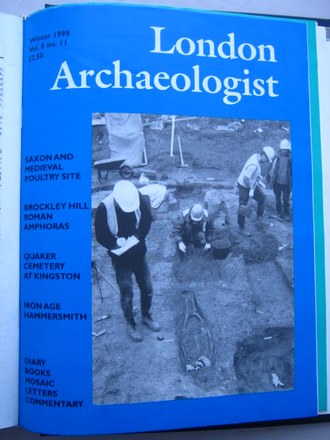 The London Archaeologist, Winter 1998, Vol. VIII, No. 11 :, Orton, Clive ;(ed)