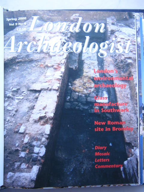 The London Archaeologist, Spring 2000, Vol. IX, No. 4 :, Orton, Clive ;(ed)