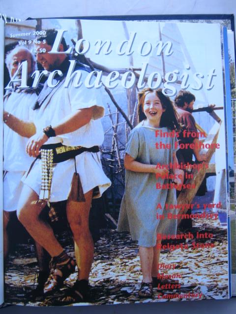 The London Archaeologist, Summer 2000, Vol. IX, No. 5 :, Orton, Clive ;(ed)