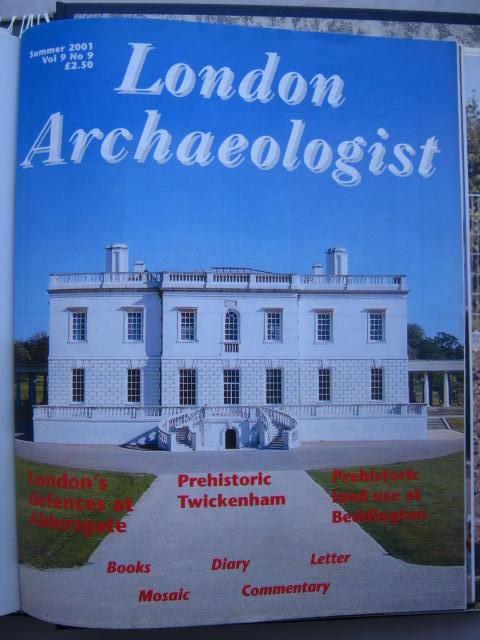 The London Archaeologist, Summer 2001, Vol. IX, No. 9 :, Orton, Clive ;(ed)
