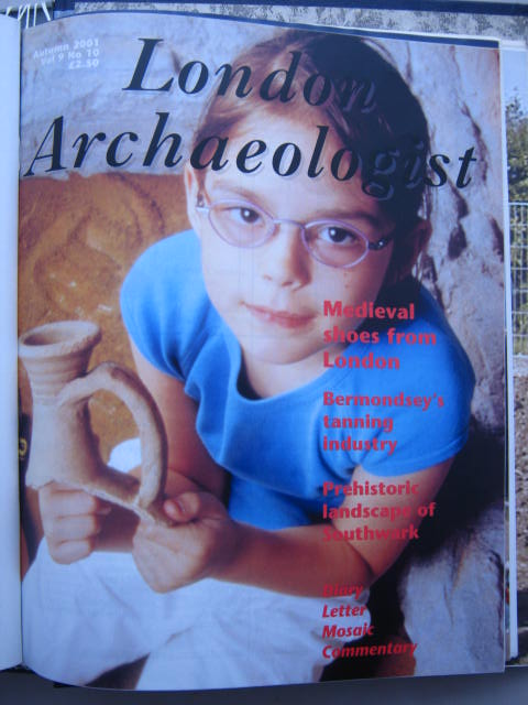 The London Archaeologist, Autumn 2001, Vol. IX, No. 10 :, Orton, Clive ;(ed)
