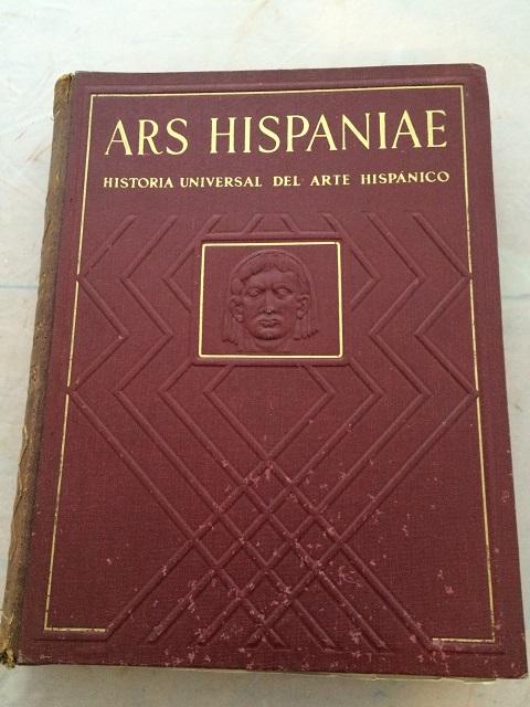 Ars Hispaniae :Historia Universal del Arte Hispanico, Taracena, Blas ;(et al)