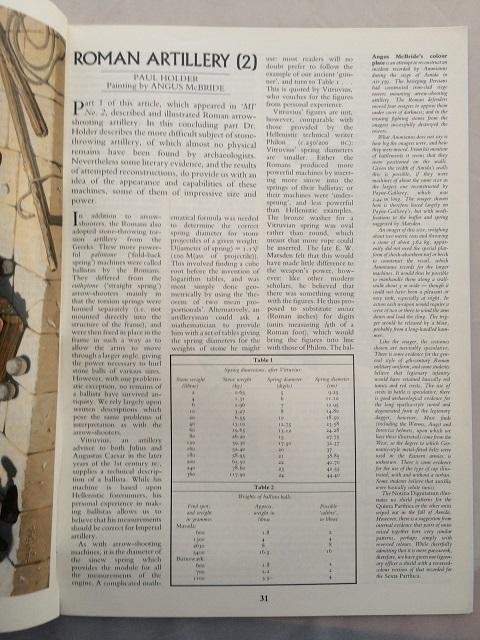 Roman Artillery (2) :, Holder, Paul ;