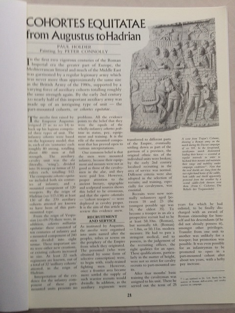 Cohortes Equitatae from Augustus to Hadrian :, Holder, Paul ;