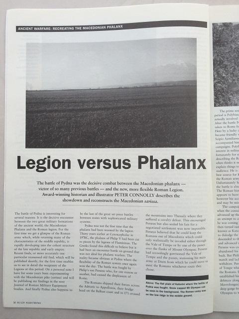 Legion versus Phalanx :, Anon ;