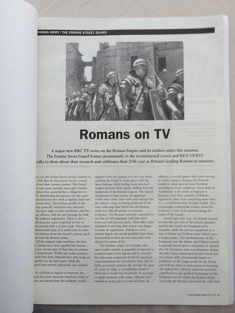 Romans on TV :, Anon ;
