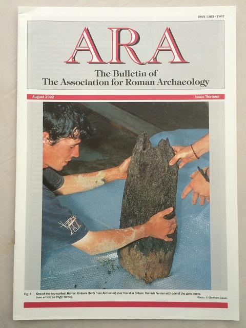 ARA :The Bulletin of The Association for Roman Archaeology, Issue 13, The Associations for Roman Archaeology ;
