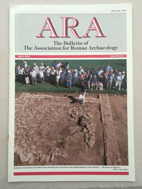 ARA :The Bulletin of The Association for Roman Archaeology, Issue 16, The Associations for Roman Archaeology ;