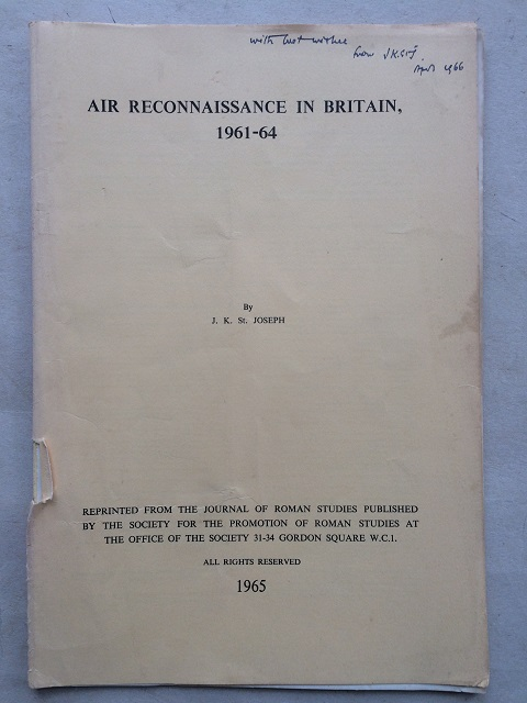 Air Reconnaissance in Britain, 1961-64 :, St. Joseph, J. K. ;