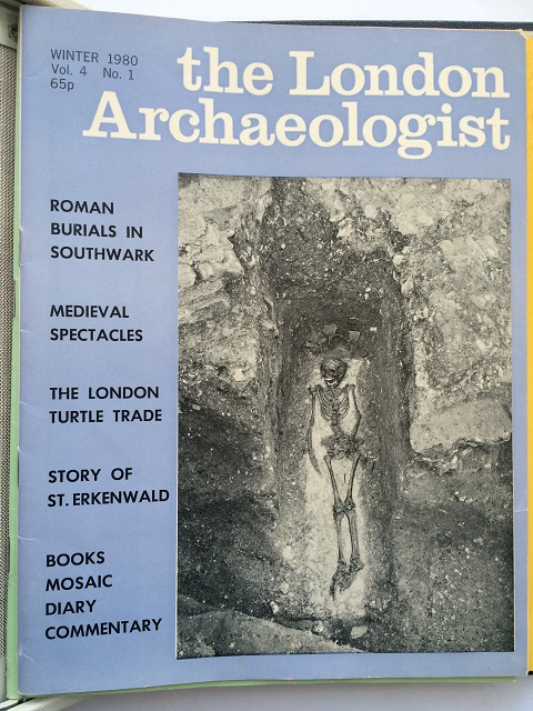 The London Archaeologist, Winter 1980, Vol. IV, No. 1 :