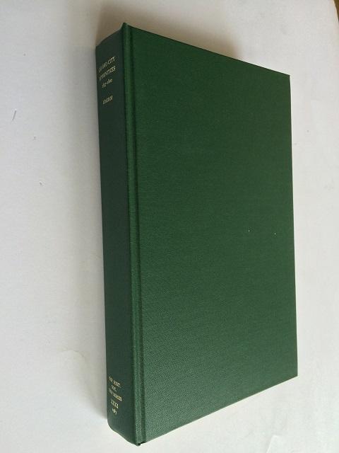 Oxford City Apprentices 1697-1800 :, Graham, Malcolm ;(ed)