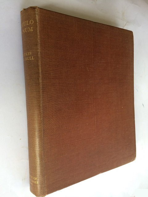 Camulodunum, First Report on the Excavations at Colchester 1930-1939 (Reports of the Research Committee of the Society of Antiquaries of London No. XIV) :, Hawkes, C. F. C. ;Hull, M. R.