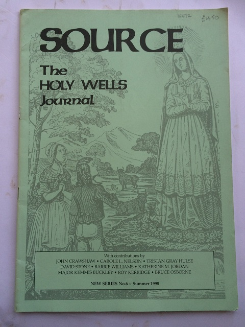 Source :The Holy Wells Journal, New Series No. 6 - Summer 1998, Crawshaw, John ;(et al)
