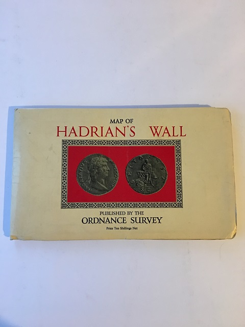 Map of Hadrian's Wall, Scale: 1:31, 680 or 2 Inches to 1 Mile :, Ordnance Survey ;