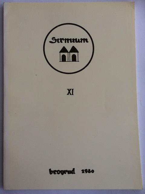 Sirmium XI :Recherches Archeologiques en Syrmie, Popovic, Vladislav ;(ed)