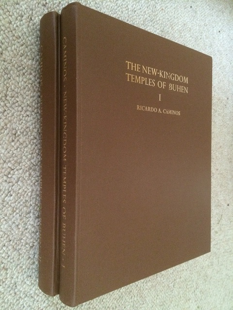 The New-Kingdom Temples of Buhen, Vol. I & II :(Archaeological Survey of Egypt, Thirty-Third Memoir), Caminos, Ricardo A. ;
