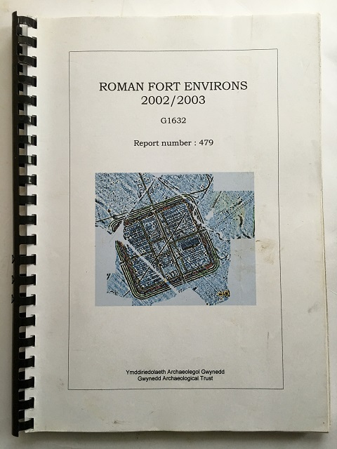 Roman Fort Environs 2002/2003 :G1632 Report Number: 479, Hopewell, David ;