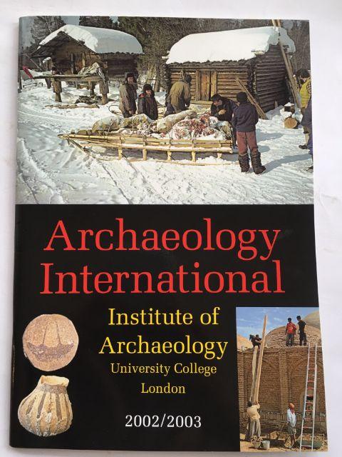Archaeology International 2002/2003 :, Harris, David R. ;(ed)