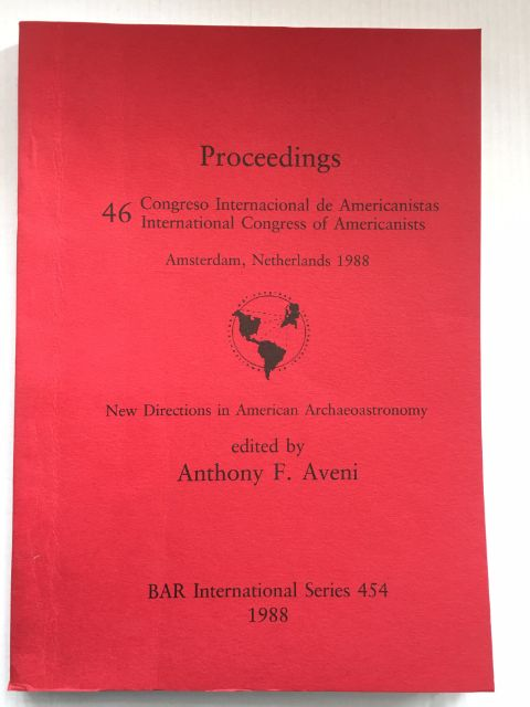 New Directions in American Archaeoastronomy :, Aveni, Anthony F. ;(ed)