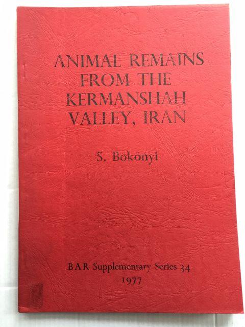 THE ANIMAL REMAINS FROM FOUR SITES IN THE KERMANSHAH VALLEY, IRAN: ASIAB, SARAB, DEHSAVAR AND SIAHBID :The Faunal Evolution, Environmental Changes and Development of Animal Husbandry, VIII-III Millennia B.C., B�k�nyi, S. ;