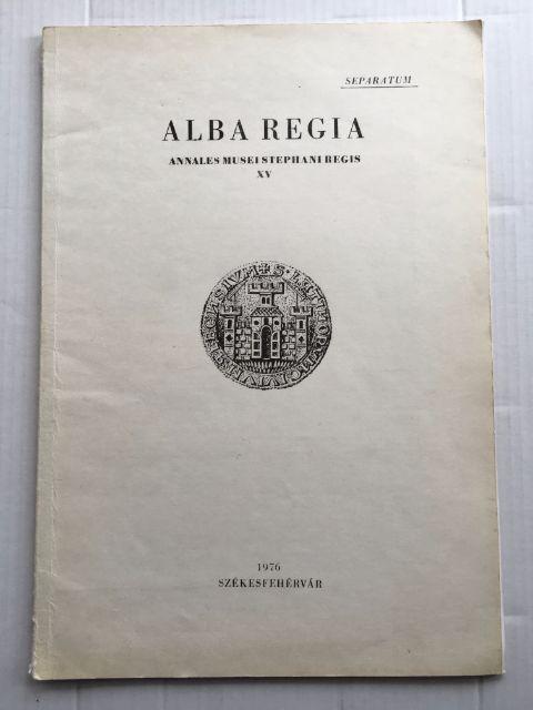 Kutatasok Gorsiumban 1974-Ben / Forschungen in Gorsium im Jahre 1974 :, Fitz, J. ;