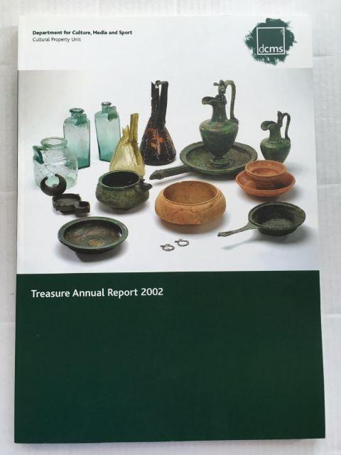 Treasure Annual Report 2002 :1 January - 31 December 2002, British Museum ;