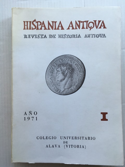 Hispania Antiqua :Revista de Historia Antigua I, Colegio Universitario de Alava ;
