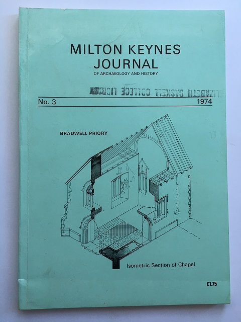Milton Keynes Journal of Archaeology and History No. 3 1974 :, Brown, O. F. ;(ed)