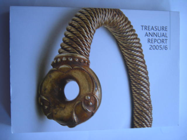 Treasure Annual Report 2005/6 :, Various ;