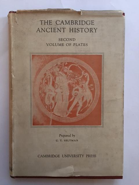The Cambridge Ancient History :Volume of Plates II, Bury, J. B. ;(et al eds)