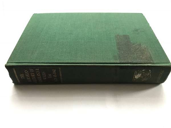 The Agrarian History of England and Wales :Volume I: II. A.D. 43-1042, Finberg, H P R ;