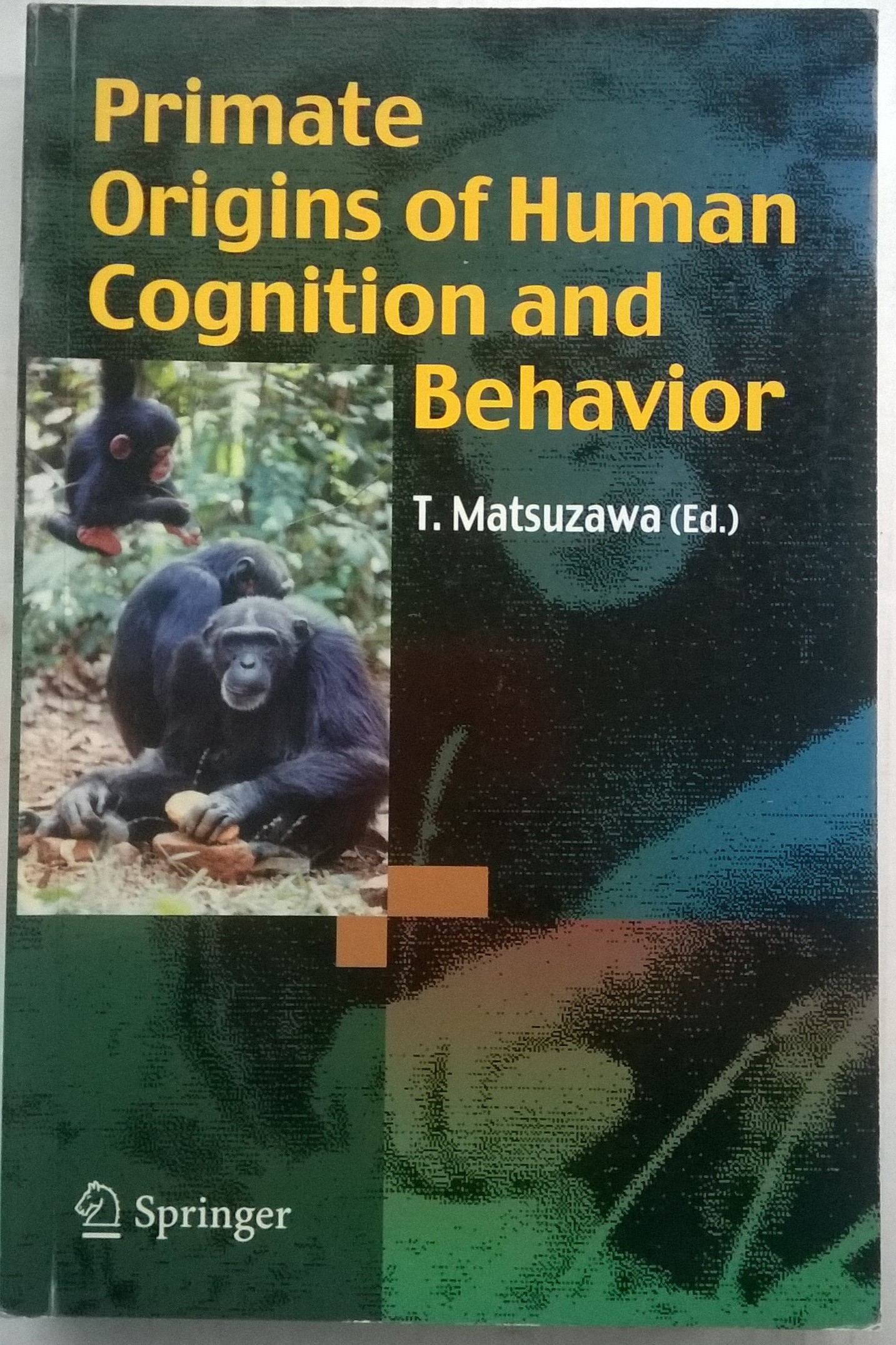 Primate Origins of Human Cognition and Development :, T Matsuzawa ;(ed)