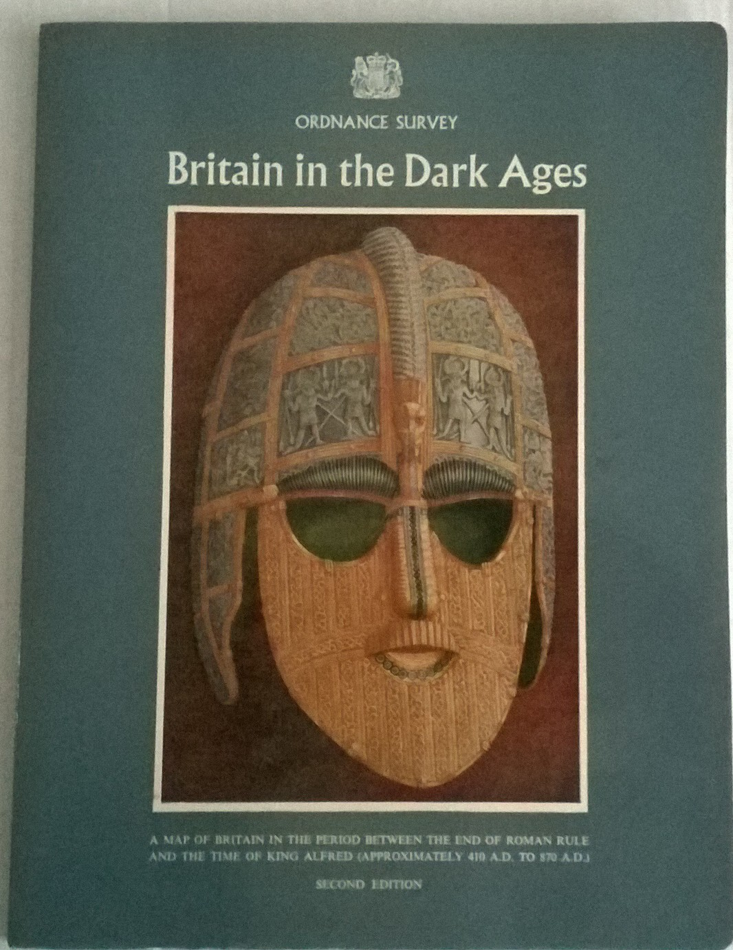 Map of Britain in the Dark Ages :Scale: Sixteen Miles to One Inch, Various ;