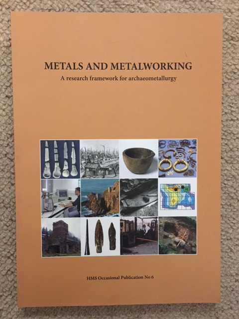 Metals and Metalworking :A research framework for archaeometallurgy, Bayley, Justine ;