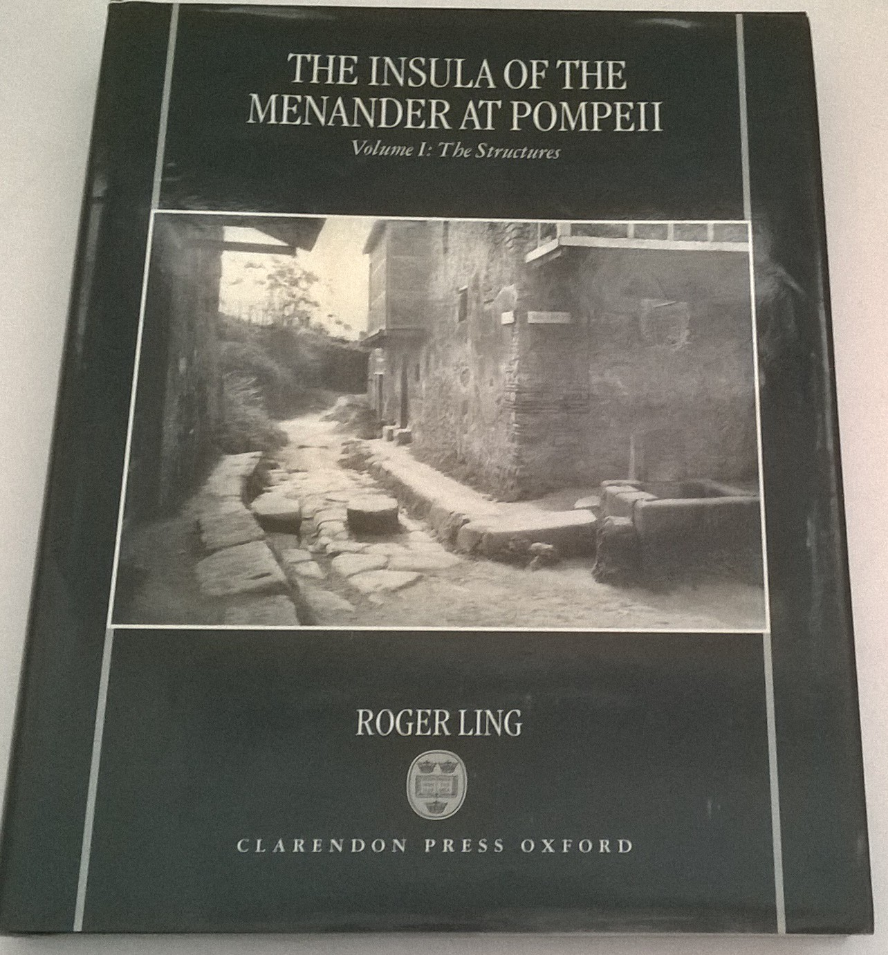 The Insula of the Menander at Pompeii :Volume I: The Structures