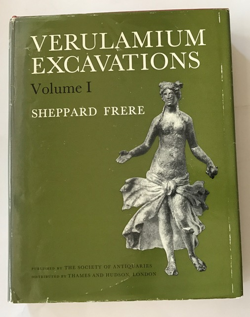 Verulamium Excavations: v. 1 (Reports / Society of Antiquaries of London. Research Committee) :, Frere, Sheppard ;